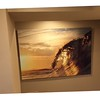 """""""Gold Morning"""" size 40x60 on Aluminum was taken during the summer of 2015 in New York at """"Golden Hour"""""""