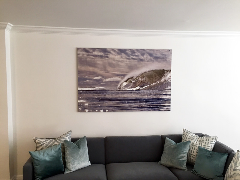 First edition of 10 size 40x60 on aluminum of the Mother's Day Swell, 2017 somewhere in NY