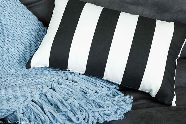 Pillow and a Throw Blanket