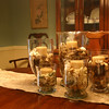 Dining Table Center 5 vases 1