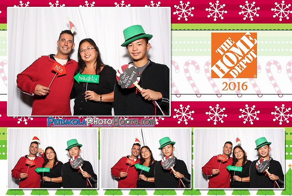 Home Depot Holiday Party 12-11-2016