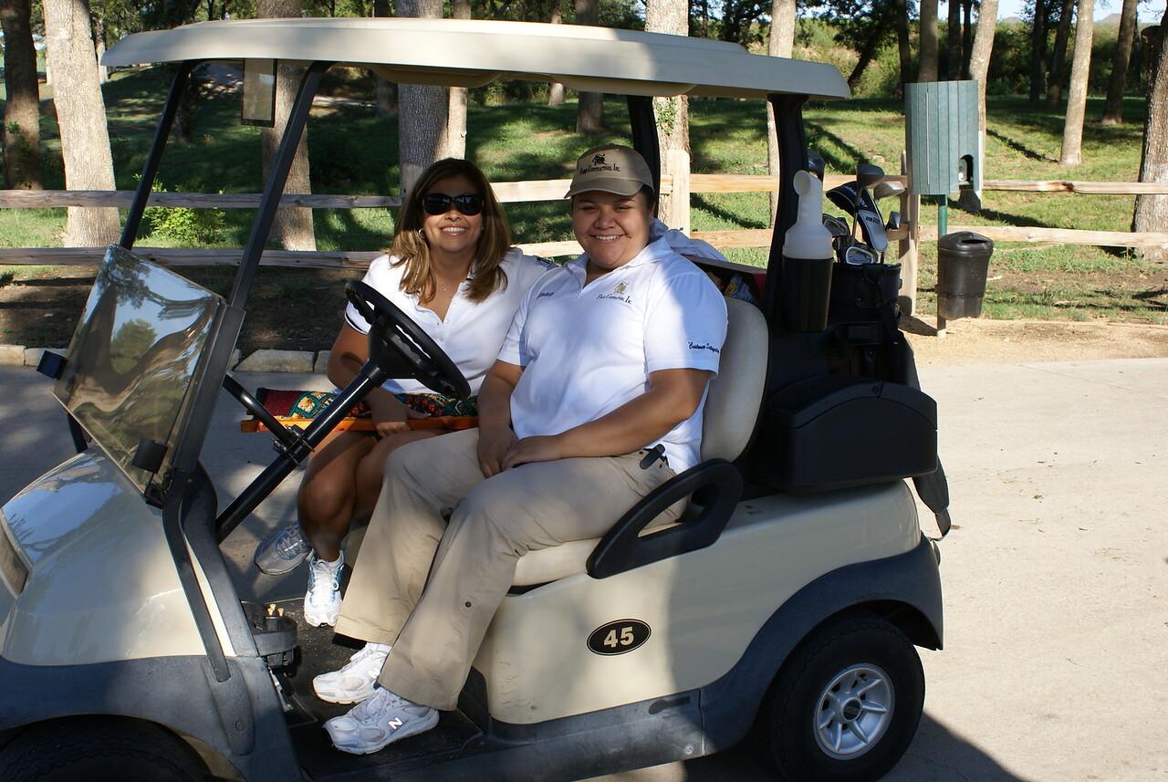 HCADFW Board Members:  Jeannette Almanza & Elizabeth Chavez