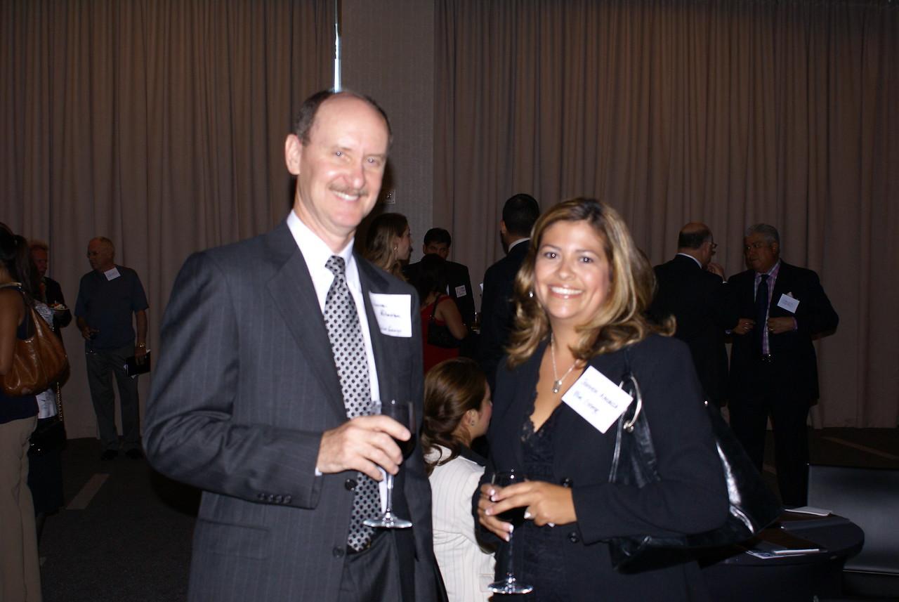 Jeannette Almanza, HCADFW Board Member with guest