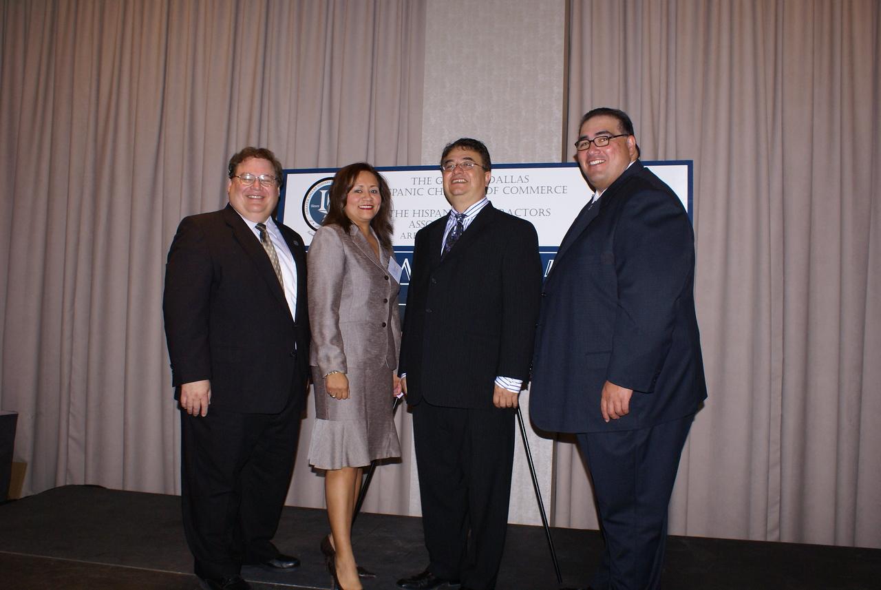 Greater Dallas Hispanic Chamber Chairman & President and Hispanic Contractors Chairman  & President