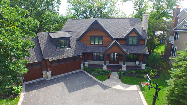Home Exteriors Project in Deerfield, IL - A.B. Edward Ent.