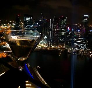 Martini at Marina Bay Sands