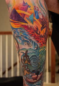 Disney Fantasia 2K Tattoo Work