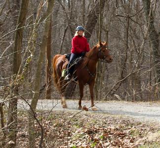 Monocacy Aqueduct - Horse Rider