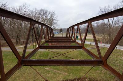 Chesapeake and Ohio Canal - White's Ferry Bridge