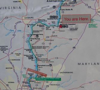 Monocacy Aqueduct - Park Map