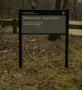 Monocacy Aqueduct - Park Entrance