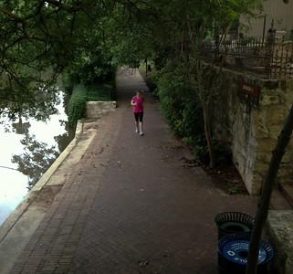 Morning Riverwalk Run