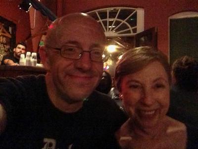 Pat O'Brien's Visit - Scott and Joan