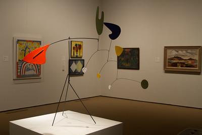 Alexander Calder - Standing Mobile - 1940