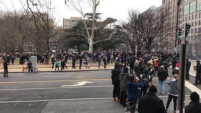 K Street Demonstrations
