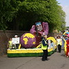 The 49th annual flower parade in Spalding, Lincolnshire