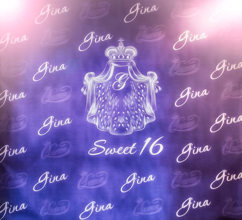 GINA'S SWEET 16