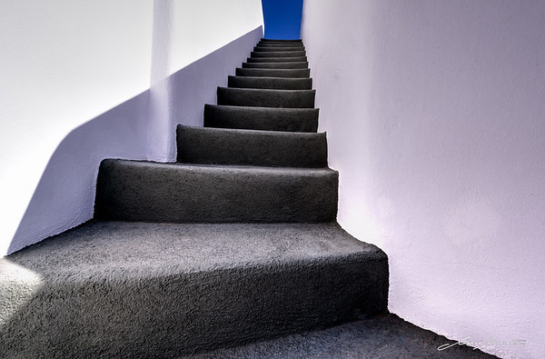 Steps towards the Blue
