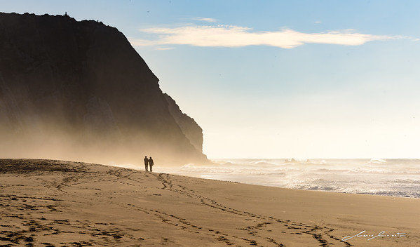 A Walk Together through Infinite Golden Beaches