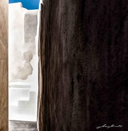 Greek Wall Shadows