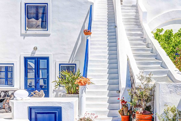 Greek Island Home