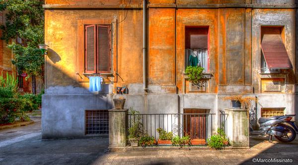 Summertime in Flaminio