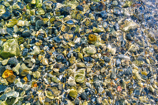 Water Rocks Colors