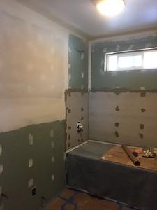 Walls installed