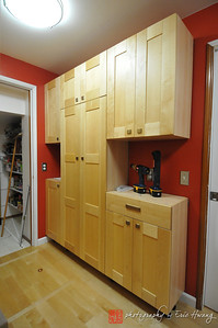 Completed laundry room remodel