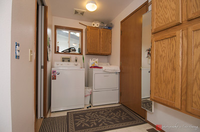 """""""Before"""" photo of laundry room remodel"""