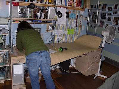 Desktop linoleum