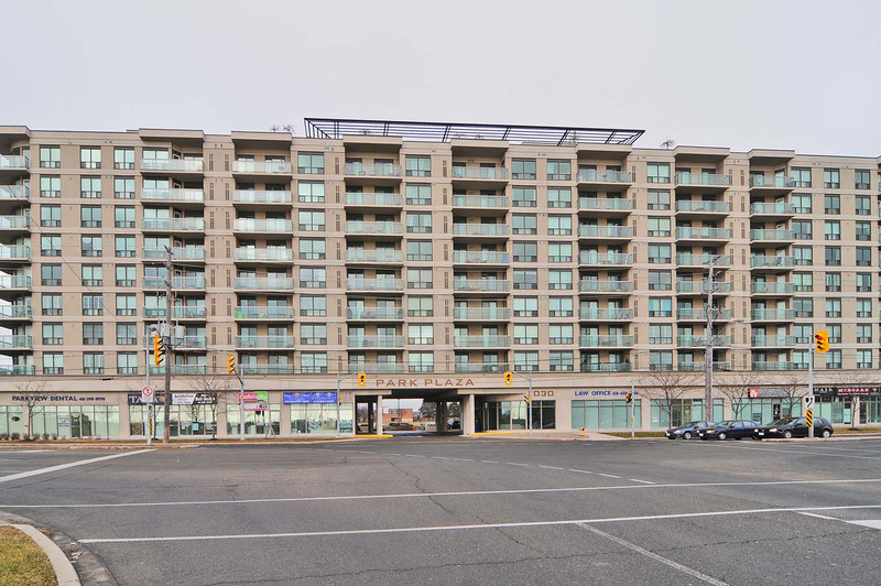View of front of 1030 Sheppard Avenue West, from Sheppard Ave.
