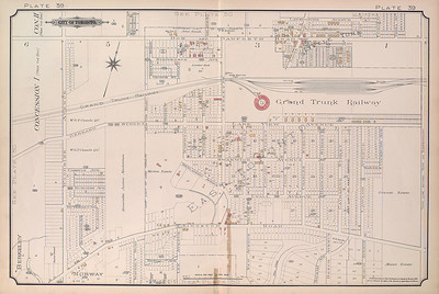 Local Map 1890 (Catharine St)