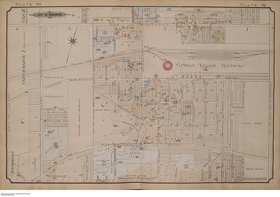 Local map 1903