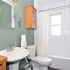 Main bathroom and mini-tub/shower.