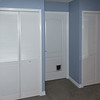 """All done! new closet doors and trim/casement. Will need to touch up the wall paint in some places due to trim paint bleed. Before picture: <a href=""""http://goo.gl/TGtaj"""">http://goo.gl/TGtaj</a>"""