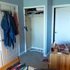 Finally adding generic closet doors to the bedroom....