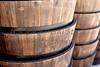 Wood Barrel Garden Planters