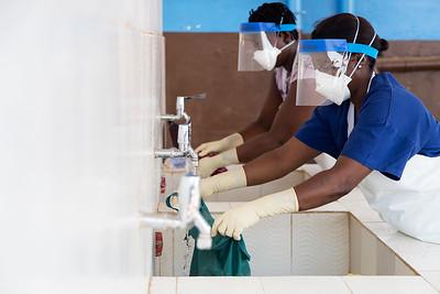 IPC at Rokupa Hospital, Freetown Sierra Leone