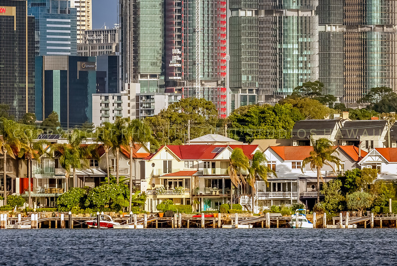Barangaroo from Sydney Harbour