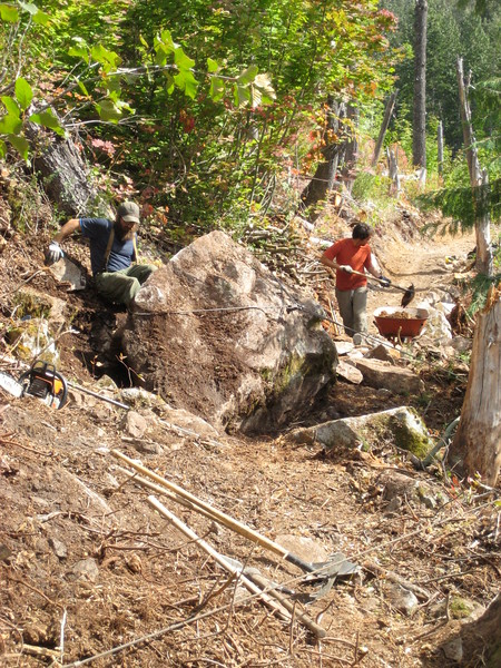 Trail Construction 2008 Little Beaver
