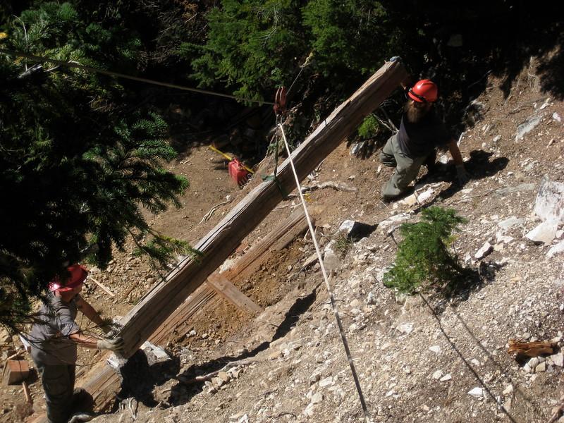 Trail Construction 2009 Whatcom Pass