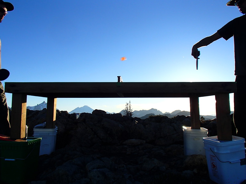 Fire Lookouts  2015 Ping Pong & the skies