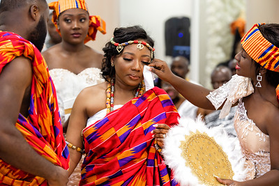 Ghana wedding photos in London