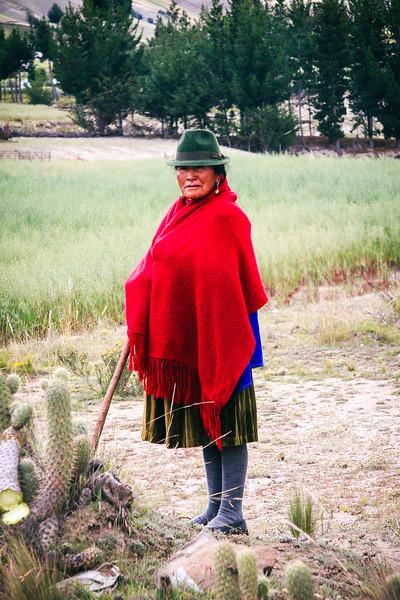 Woman Farmer of Quilotea