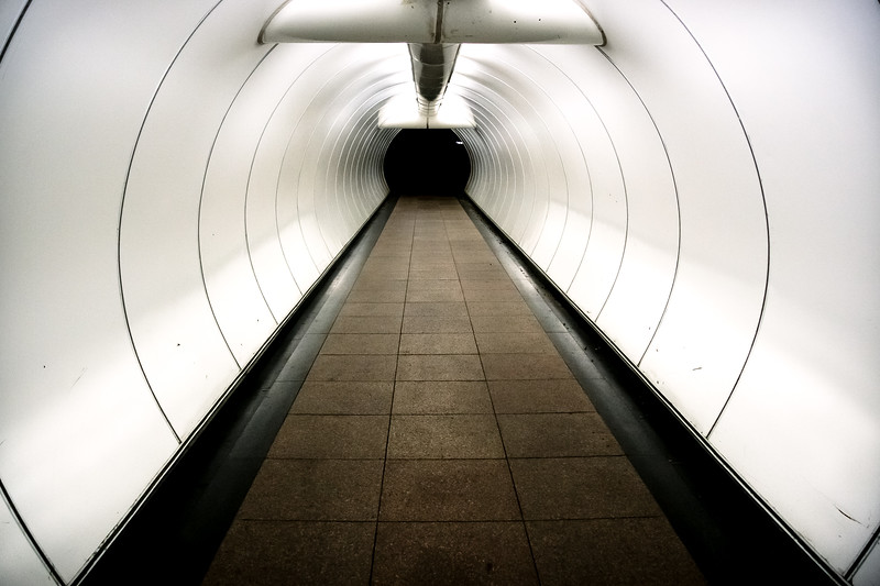 Inside of a Tunnel