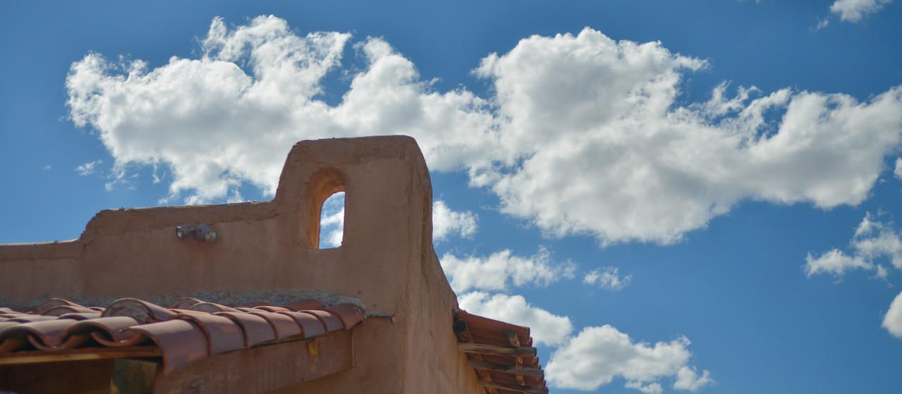 I love New Mexico skies.