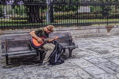 New Orleans Street Musician