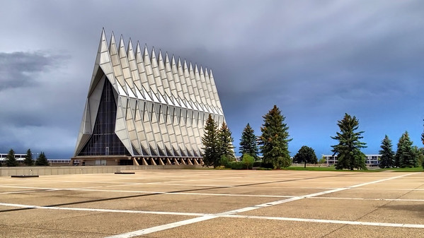 US Air Force Academy Chapel in Colorado