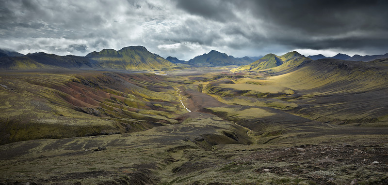 Torfakvis Valley, Iceland